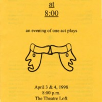 1997-1998 An Evening of One Act Plays - PROGRAM.pdf
